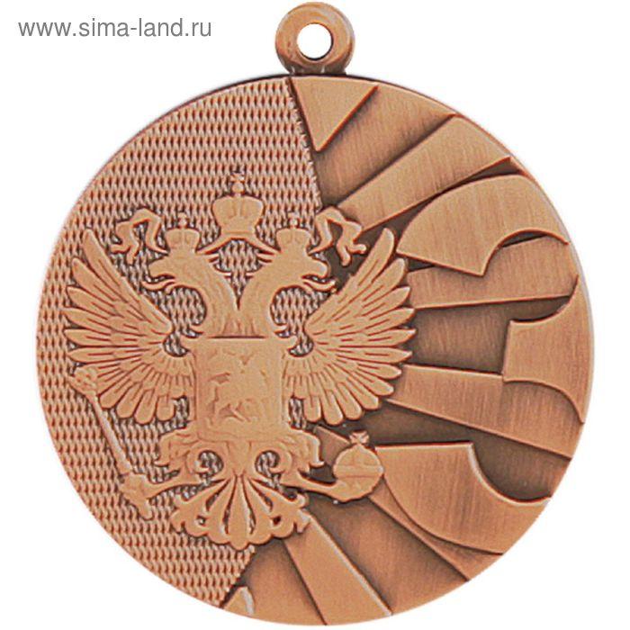 Медаль 3 место MMC8040/B, d=40 мм, толщина 2 мм
