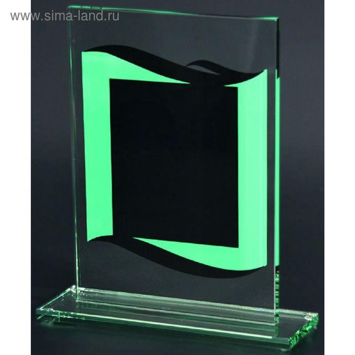 Награда стеклянная h=17 см, 80801/GN