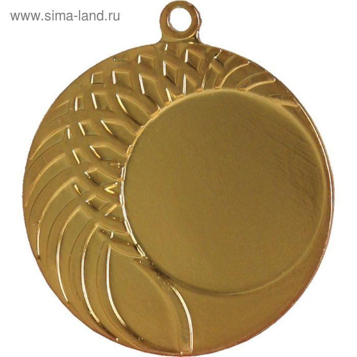 Медаль MMC1040/G, d=40 мм, место под эмблему 25 мм