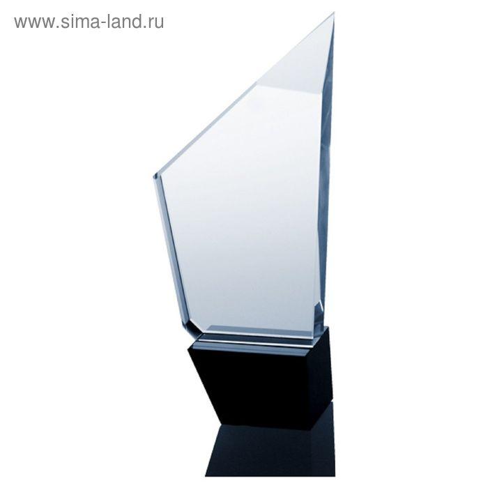 Награда хрустальная h=25 см, футляр в комплекте C038 40*25