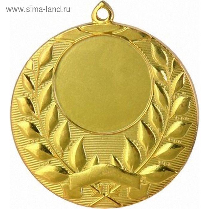 Медаль MMC1750/G, d=50 мм, место под эмблему 25 мм