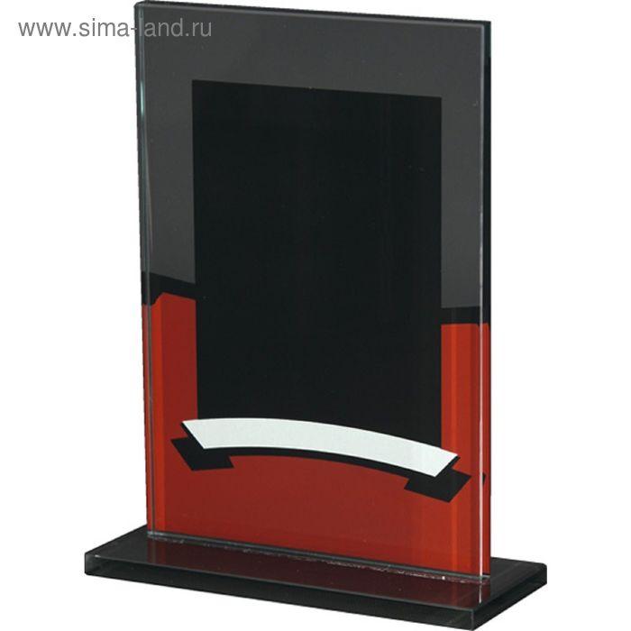 Награда стеклянная 195х125 мм, 80912