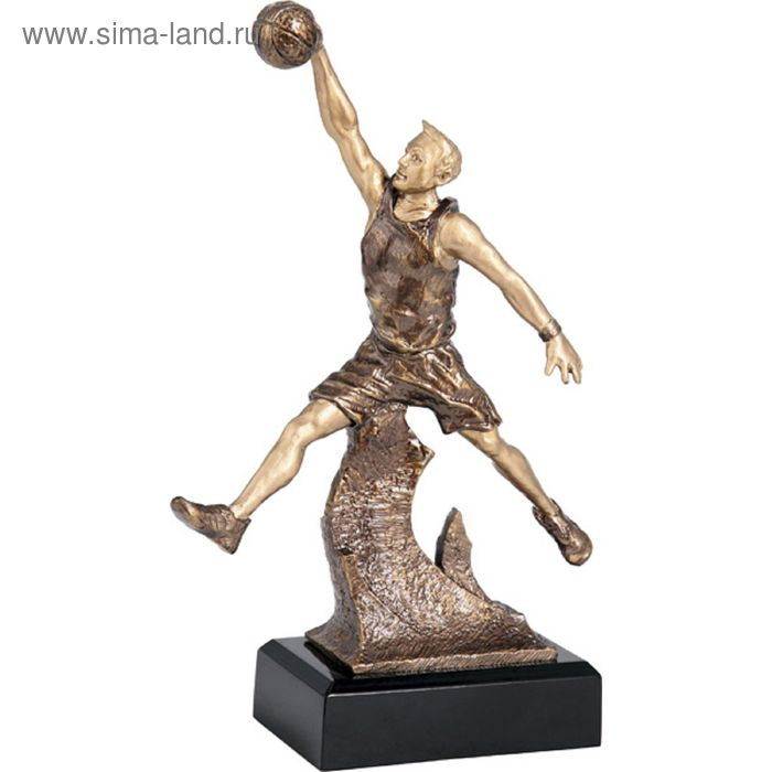 Фигурка литая Баскетбол м. RFST2008/BR, h=26,5 см