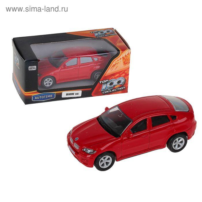 """Машина металлическая """"BMW X6"""" 1:64 цвета микс34217"""