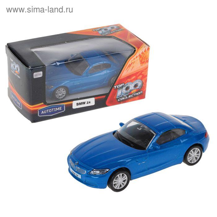 """Машина металлическая """"BMW Z4"""" 1:64 цвета микс 34216"""