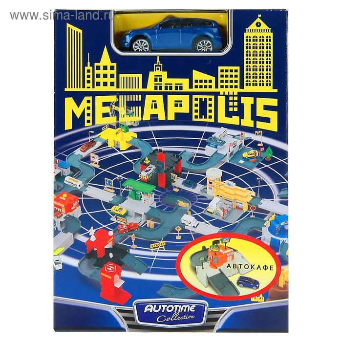 "Набор ""MEGAPOLIS"" автокафе с маш. 1:60 76748W-RUS"