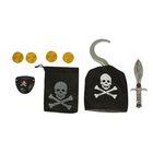 """Набор пирата """"Капитан Крюк"""", 8 предметов"""