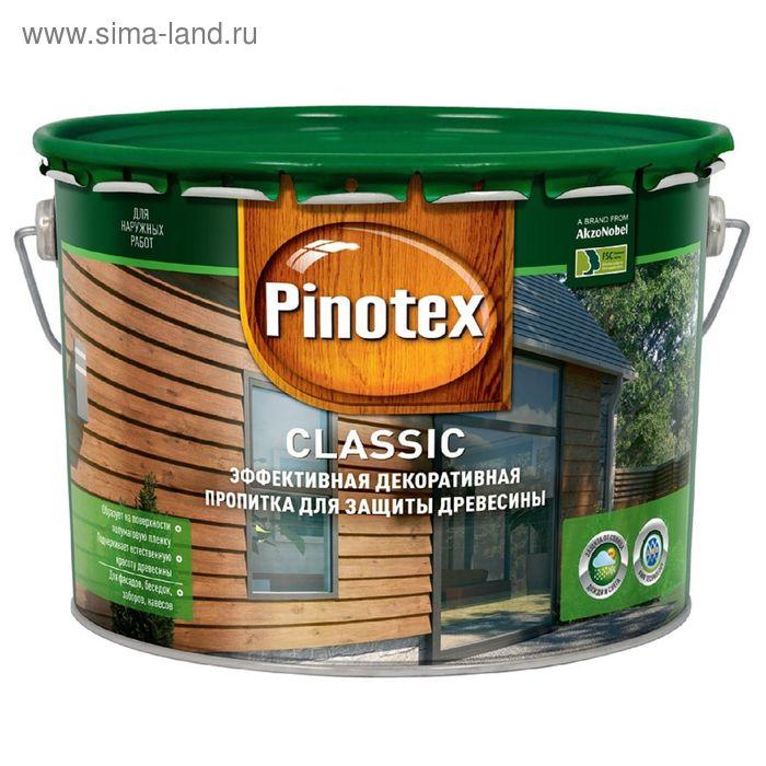 """Антисептик Pinotex """"Классик"""", дуб, 10 л"""
