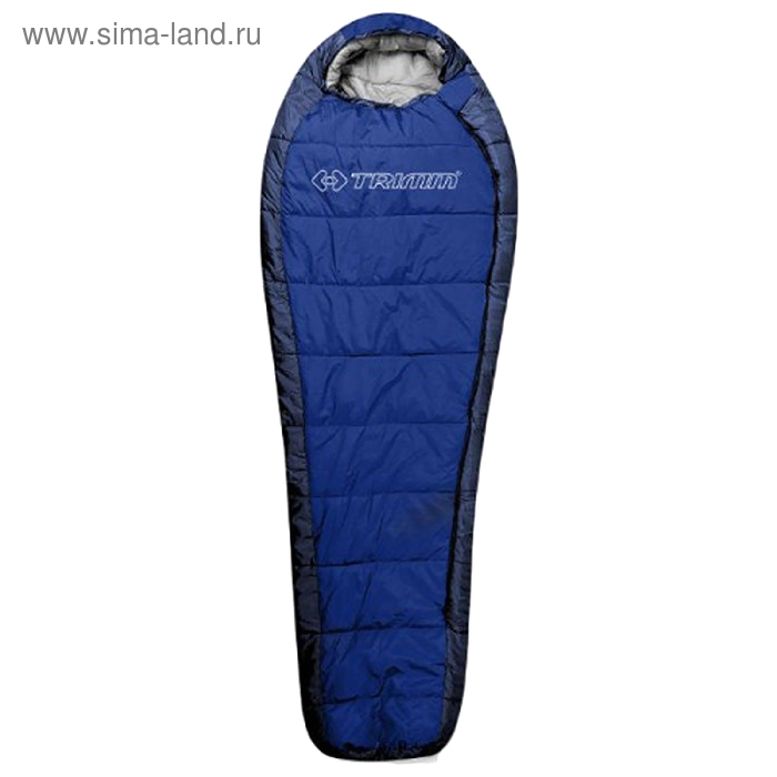 Спальный мешок Trimm Trekking HIGHLANDER, синий, 195 Rполиэстр, нейлон,230 см *58 см * 85 см, -20С