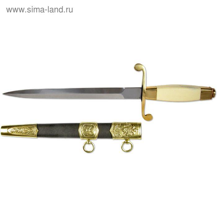 Сувенирный Кортик ГРУ, рукоять-сталь/хром, сталь 65х13