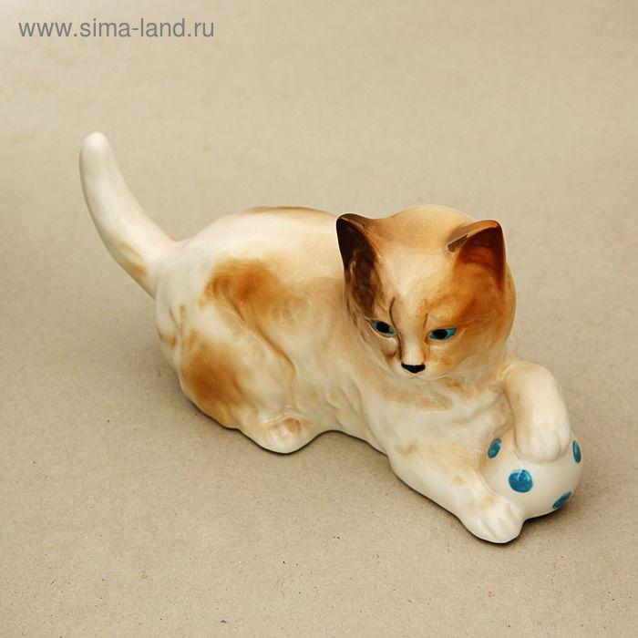 """Статуэтка """"Котёнок с мячом"""""""