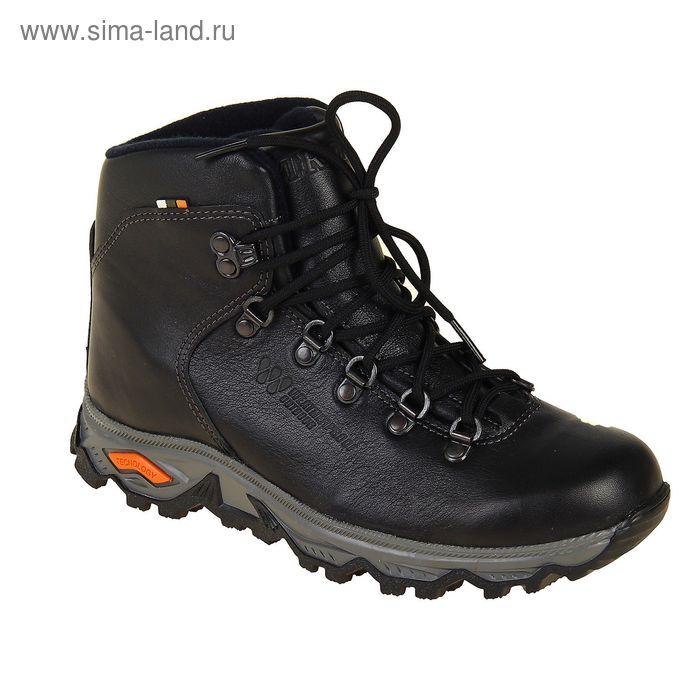 Ботинки TREK Хайкинг 36-01 мех (черный) (р.38)