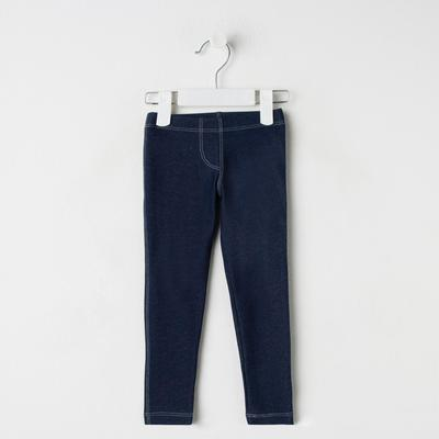 Брюки для девочки, рост 92 см, цвет джинс Л552_М