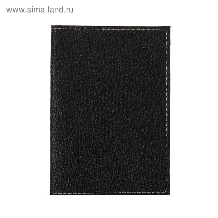 Обложка для паспорта, чёрный флотер