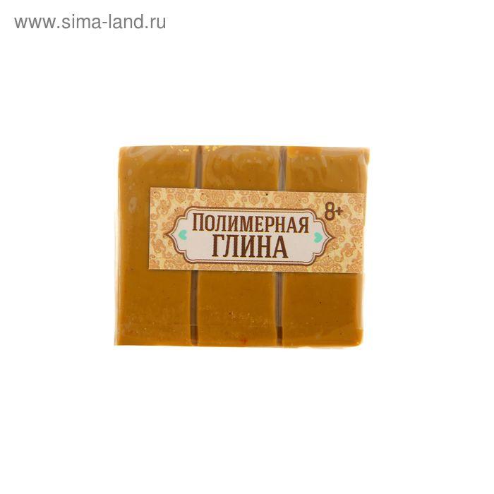 Полимерная глина 30 гр, цвет коричневый