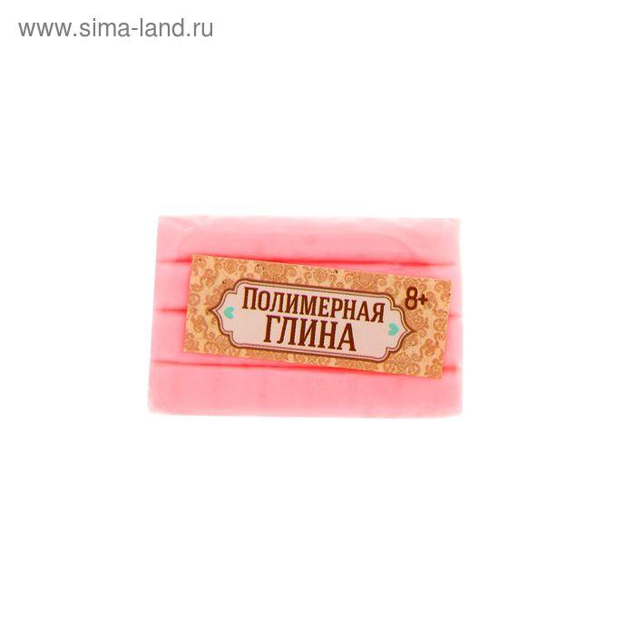 Полимерная глина 20 гр, цвет люминесцентный нежно-розовый
