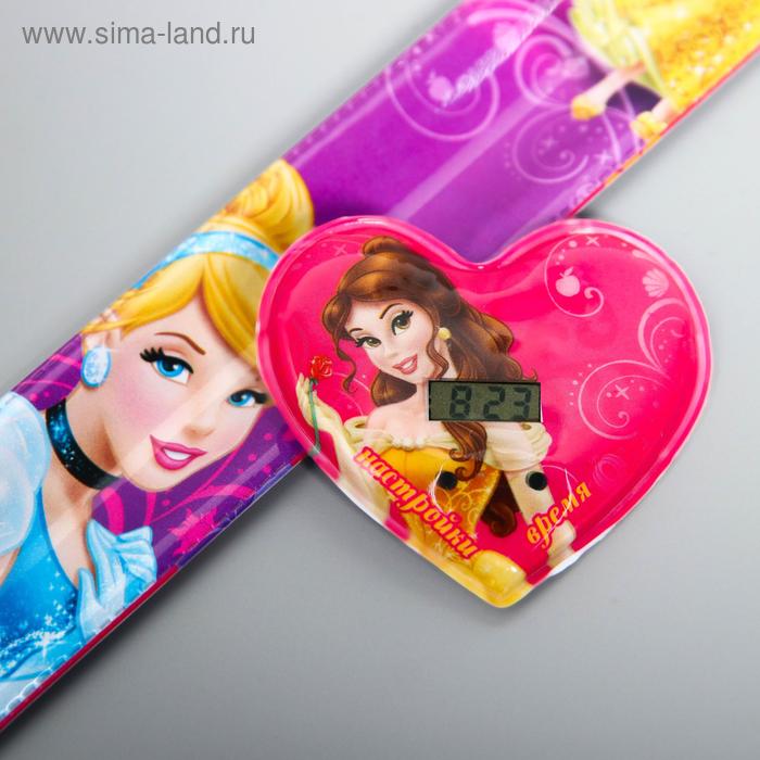 """Часы наручные электронные """"Принцессы"""", 22,5 х 4,5 см"""