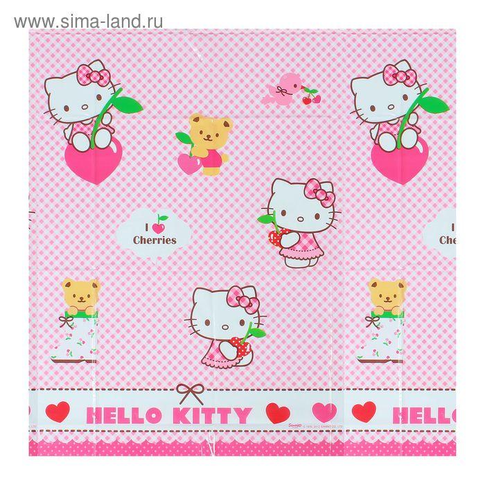 """Скатерть 120*180 см """"Хэллоу-Китти"""" / Hello Kitty Hearts"""