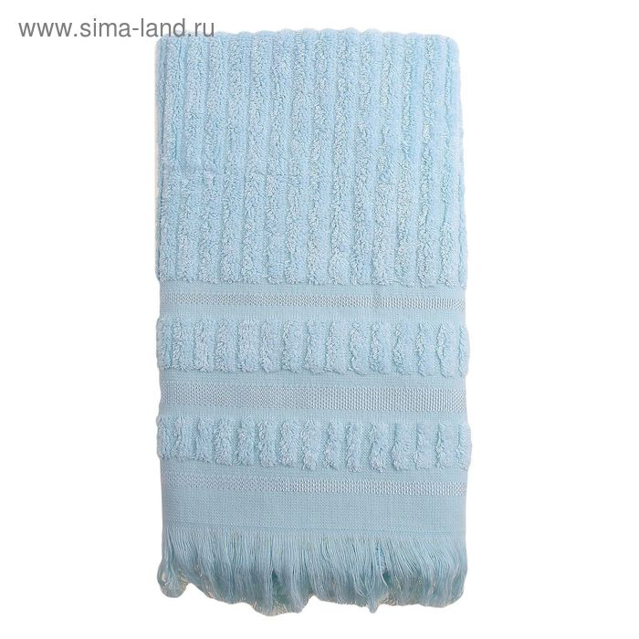 Полотенце DO&CO MELISSA 50*90 см светло-голубой, бамбук, 460 гр/м