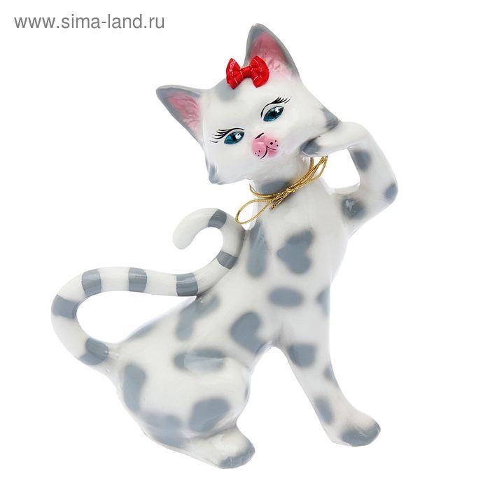 "Копилка ""Милена"" глянец, белый леопард"