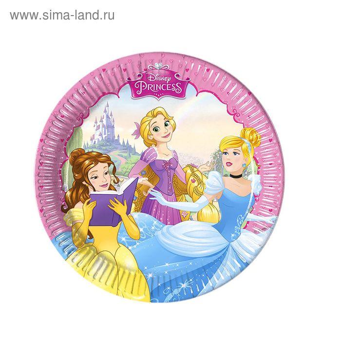 """Тарелки """"Принцессы"""" 20 см (набор 8 шт) / Princess Dreaming"""