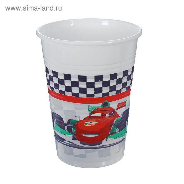 "Стаканы пластиковые ""Тачки. Формула"" 200 мл (набор 8 шт) / Cars Formula"