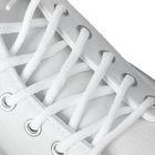Шнурки для обуви круглые, ширина 5мм, 180см, цвет белый