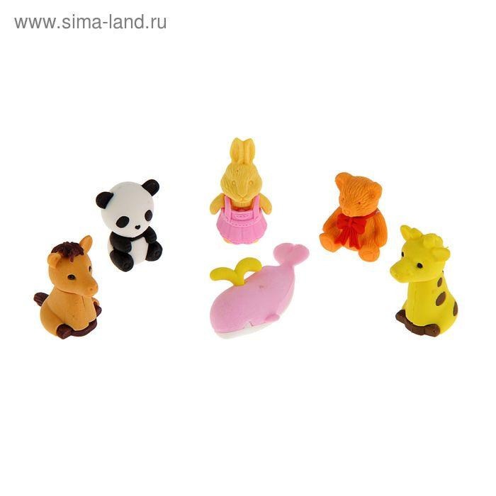 Ластик Животные, микс 83484