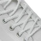 Шнурки для обуви круглые, ширина 5мм, 120см, цвет белый