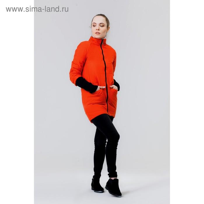 Куртка женская, размер 46, рост 168, цвет красный (арт. 53)