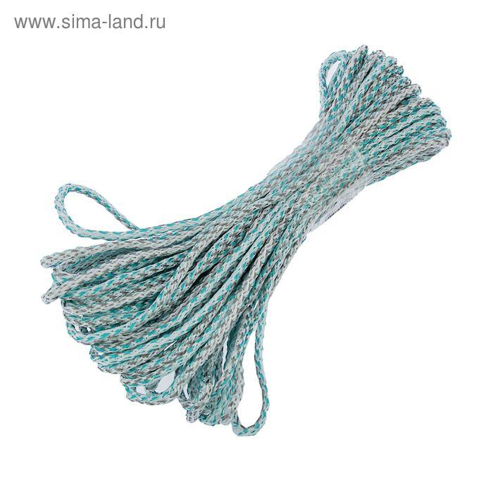 Шнур вязанный 20 м с сердечником d=5 мм