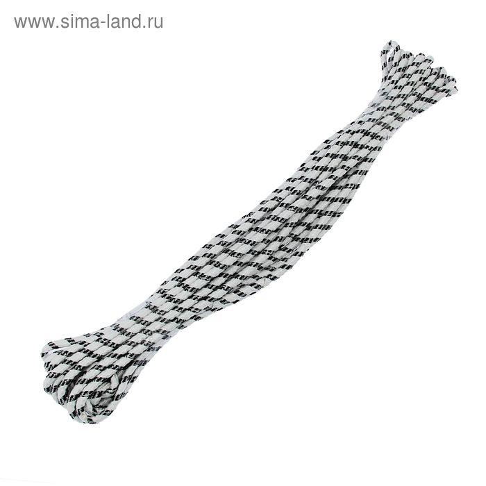 Шнур плетенный 15 м с сердечником d=8 мм