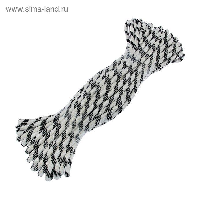 Шнур плетеный 30 м с сердечником d=12 мм