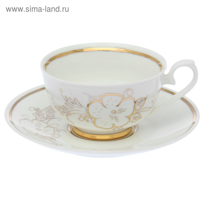"""Чайная пара """"Эльза"""", чашка 220 мл"""