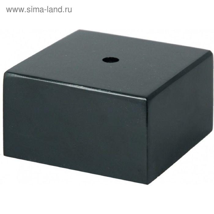 Цоколь мраморный, черный 65х65х30 BMX6530