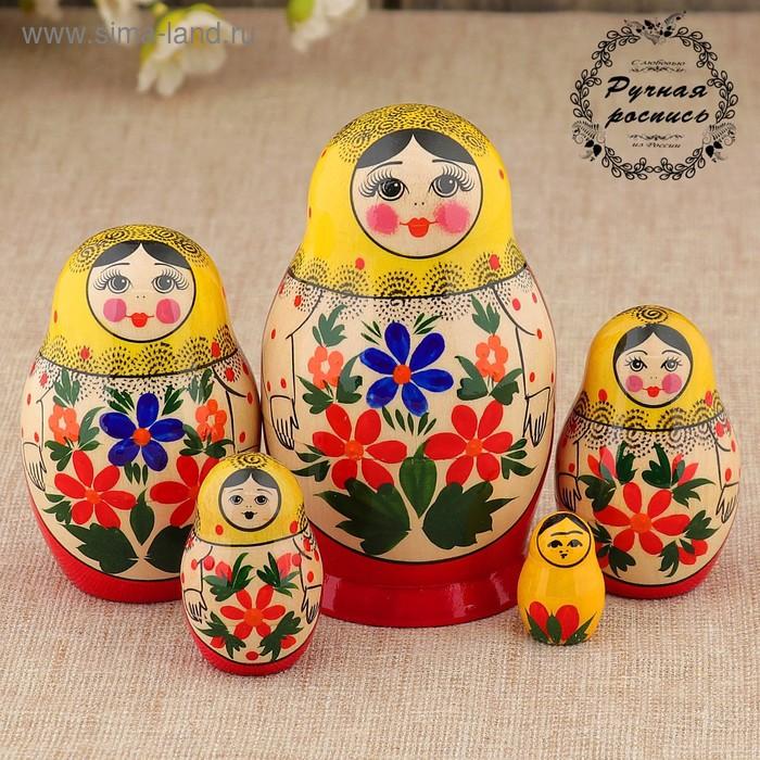 """Матрешка """"Мария"""", 5 кукол, высшая категория"""