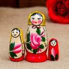 Матрешка Семеновская 3 кукольная  люкс