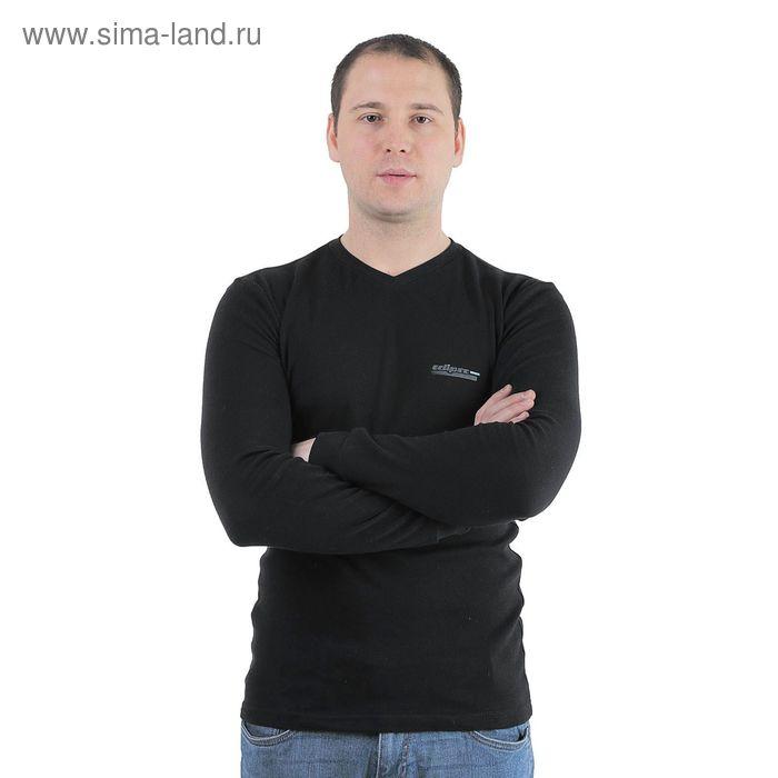 Джемпер мужской Р817128 черный , рост 170-176 см, р-р 46