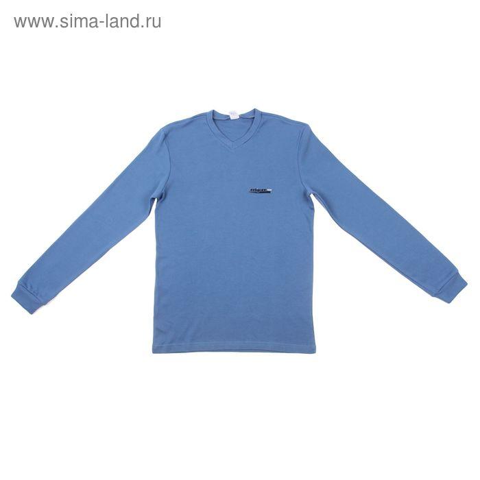 Джемпер мужской Р817128 голубой, рост 170-176 см, р-р 48