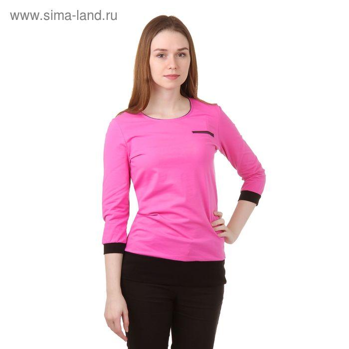 Джемпер женский Р808061 розовый, рост 170-176 см, р-р 52