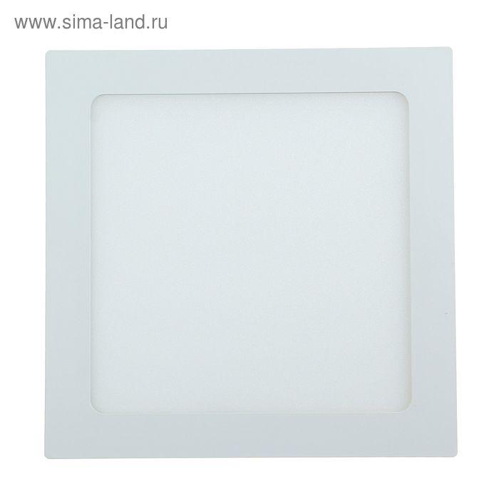 Панель светодиодная Linvel SPL1, 18 Вт, 4000 K, 225 х 225 мм, встраиваемая/накладная