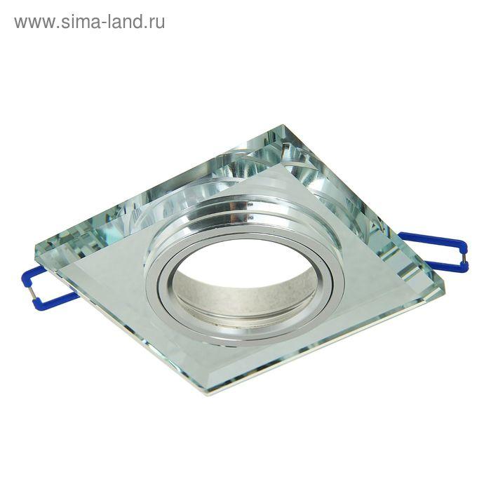 Светильник потолочный Linvel 8170-2 CH Mirror МR16, G5.3, 12 В, 35Вт , d-90мм
