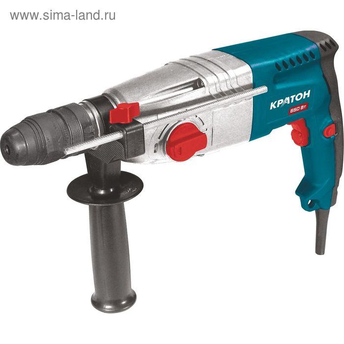 Перфоратор Кратон RHЕ-650-24 FR   (б/съёмный патрон)