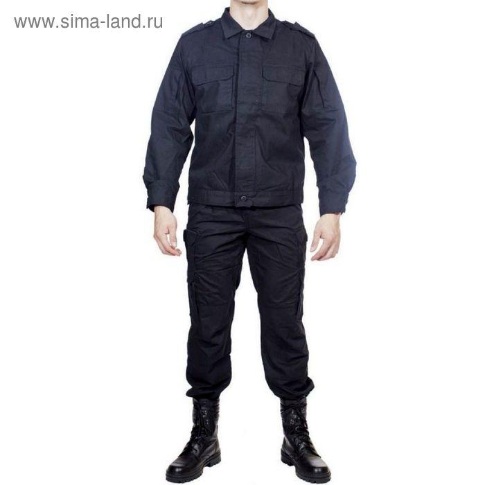 Костюм летний МПА-24 (Спецназ) черный тк. Мираж 46/3