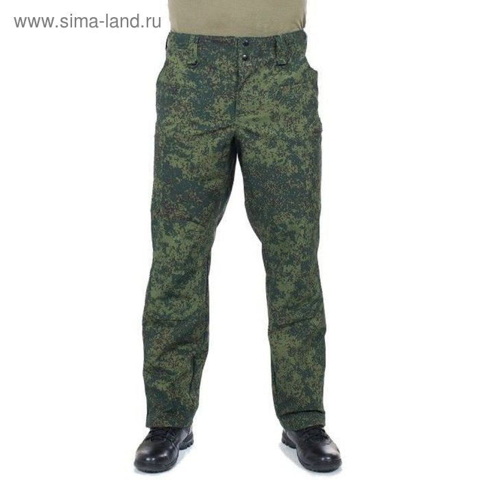 Брюки МПА-41 (тк.Софтшелл) КМФ зеленая цифра 50/3