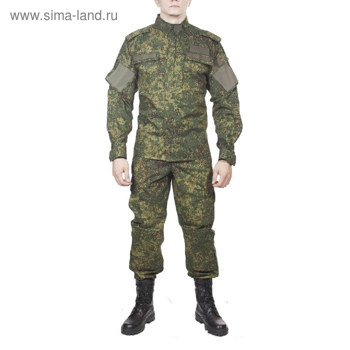 Костюм летний МПА-37-02 (МО-2) зеленая цифра тк. Панацея 42/4