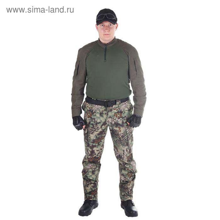 Брюки МПА-28 (тк.Софтшелл) КМФ питон лес 48/4