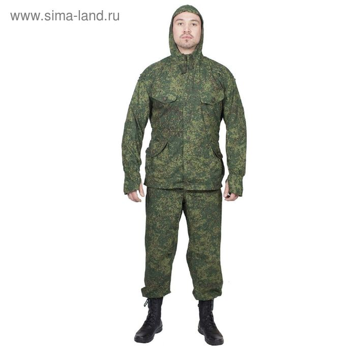 Костюм летний МПА-21 (Сумрак-1) КМФ зеленая цифра  Панацея 56/6