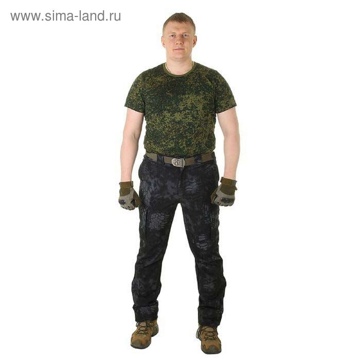 Брюки МПА-28 (тк.Софтшелл) КМФ питон ночь 60/6