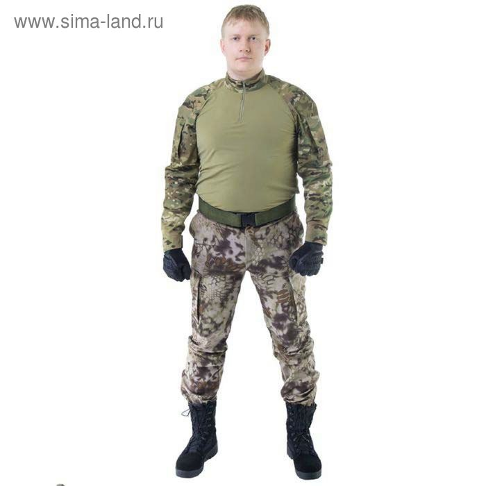 Брюки МПА-28 (тк.Софтшелл) КМФ питон скала 54/3